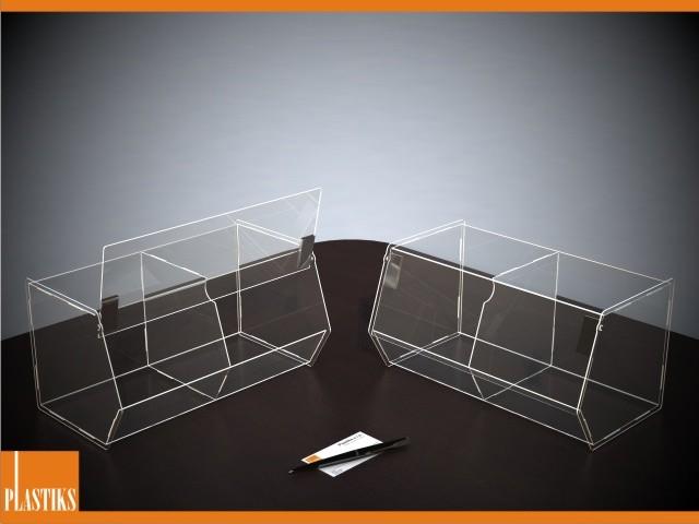 box mit klappdeckel und trennwand aus acryl 19de030a 7 beliebige gr en und formen kaufen. Black Bedroom Furniture Sets. Home Design Ideas