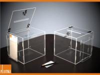 acrylbox acrylglas losbox mit deckel spendenbox kaufen plexiglas beliebige gr en und formen. Black Bedroom Furniture Sets. Home Design Ideas