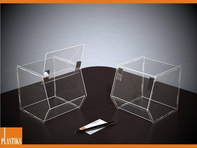 transparente box mit klappdeckel 19de030a 6 beliebige gr en und formen kaufen in. Black Bedroom Furniture Sets. Home Design Ideas
