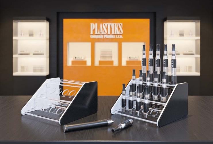 e zigarette halter aus plexiglas display f r e. Black Bedroom Furniture Sets. Home Design Ideas
